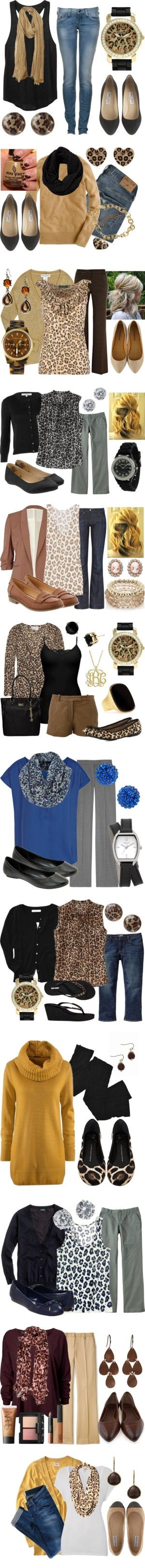 """""""Lotsa Leopard"""" by qtpiekelso on Polyvore"""