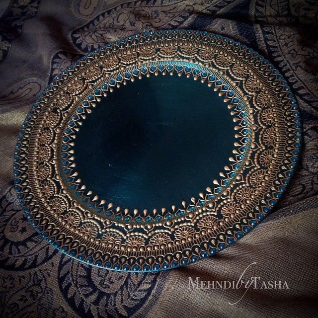 henna plates - Google Search