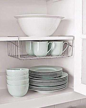 17 mejores ideas sobre organizar los armarios de la cocina en ...