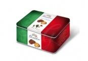 Koekjes in feestelijk blik  Heerlijk assortiment #koekjes Brasil & Margherite. Dit blik, met de kleuren van de Italiaanse vlag, symboliseert de 150-jarige verjaardag van Italië.
