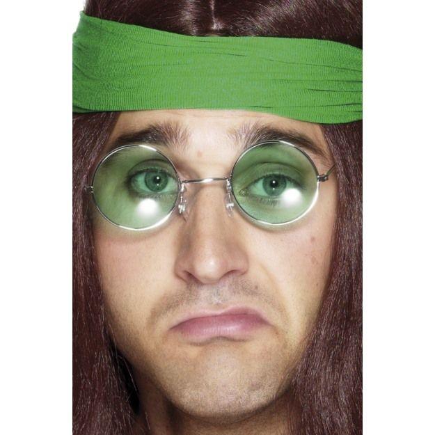 Seventies Hippy Specs, Assorted Coloured Lenses