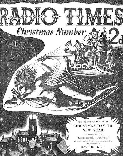 1949 Radio Times Christmas Cover Eric Fraser