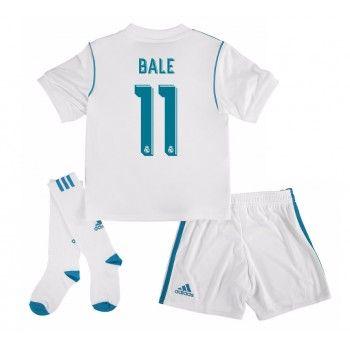 Real Madrid Gareth Bale 11 kläder Barn 17-18 Hemmatröja Kortärmad  #Billiga #fotbollströjor
