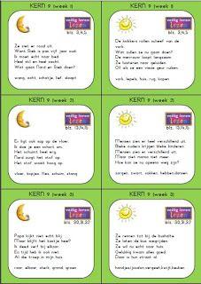 Dicteekaarten kern 9 en 10