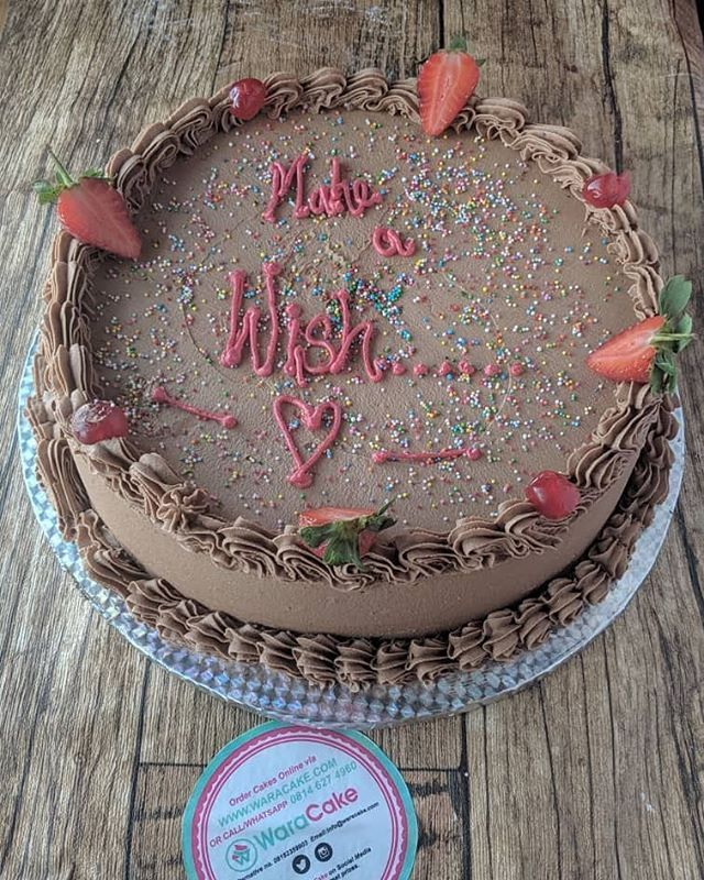 Make A Wish And Tag Someone To See You Never Know Waracake Lagoscakes Cakesinlagos Cakedecorating Chocolate Chocolatecake Gifts Uniquegifts