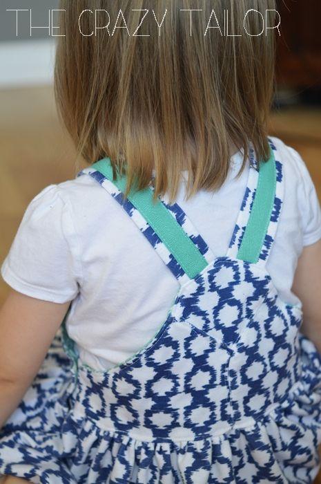 Girl Overalls {a dress}