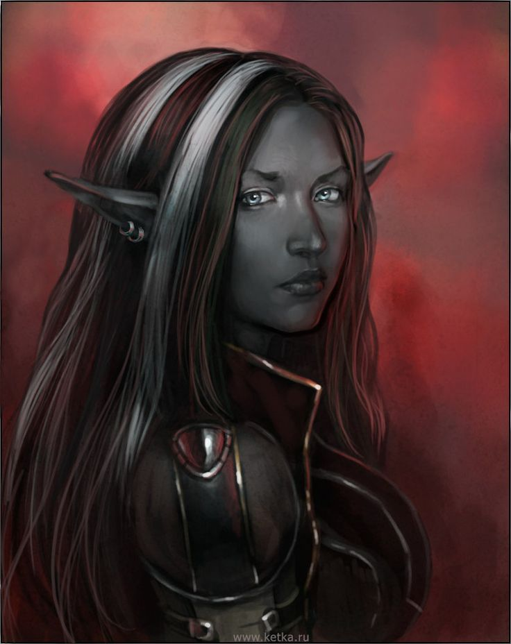 "example of a Svartalfar ""dark elves"" (retirement race only)"