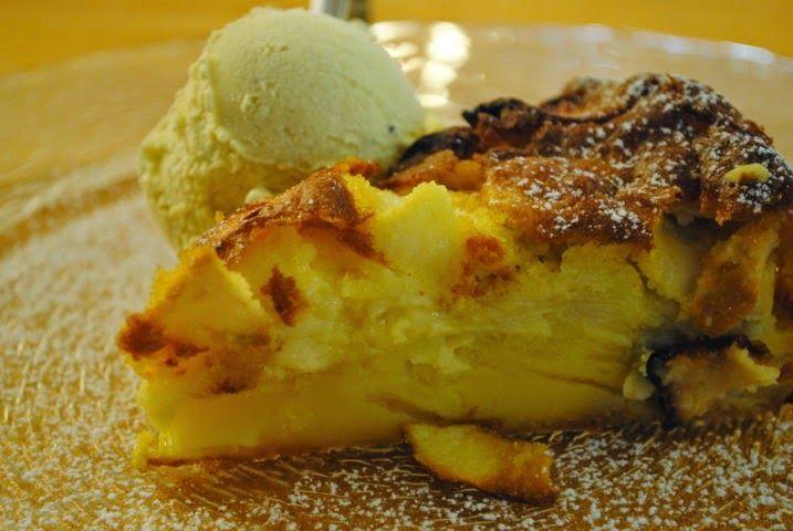 Una torta di mele magica