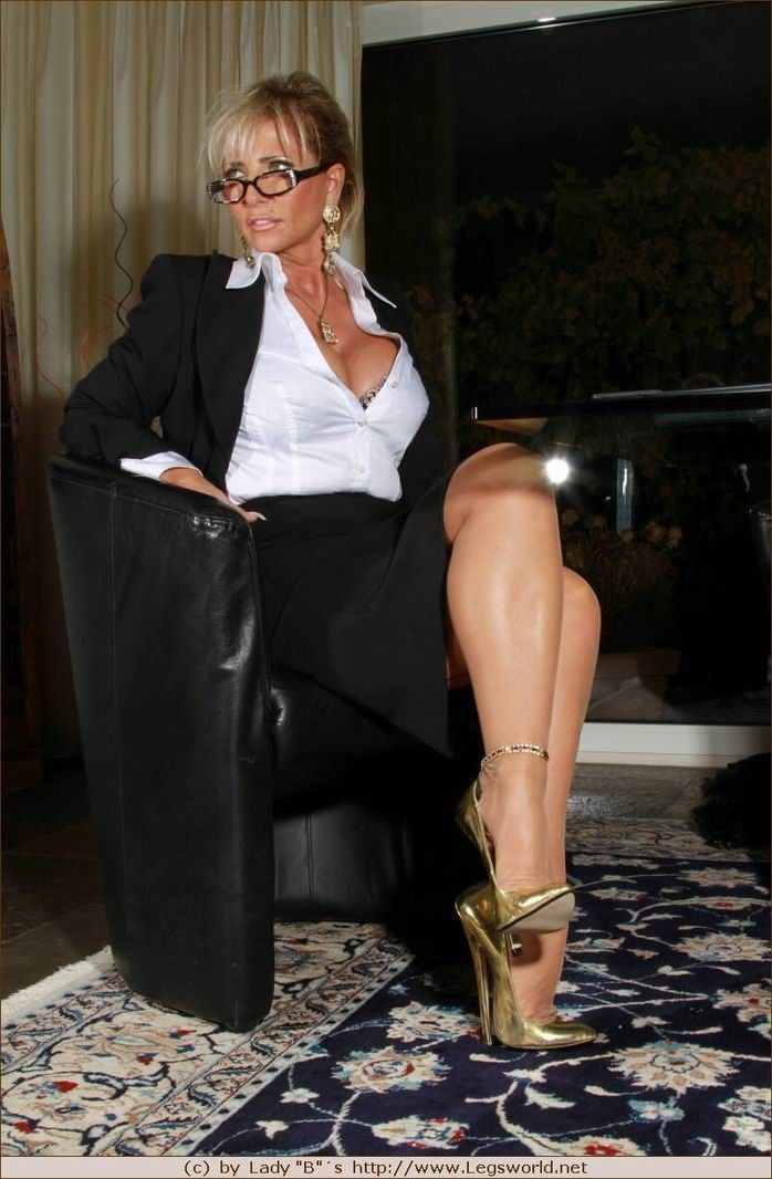 Boots Pantyhose Spread Shots 36