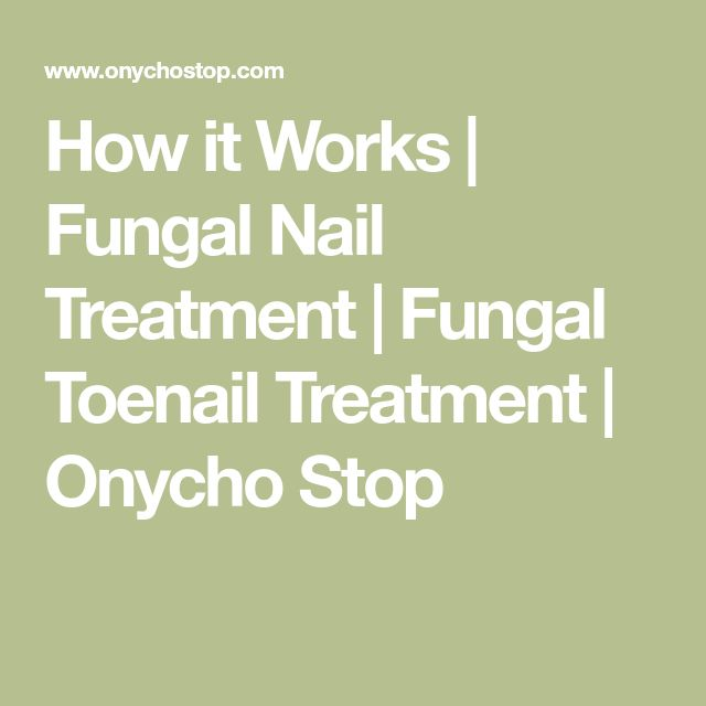 How it Works | Fungal Nail Treatment | Fungal Toenail Treatment | Onycho Stop