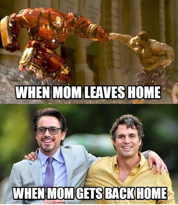 When Mom