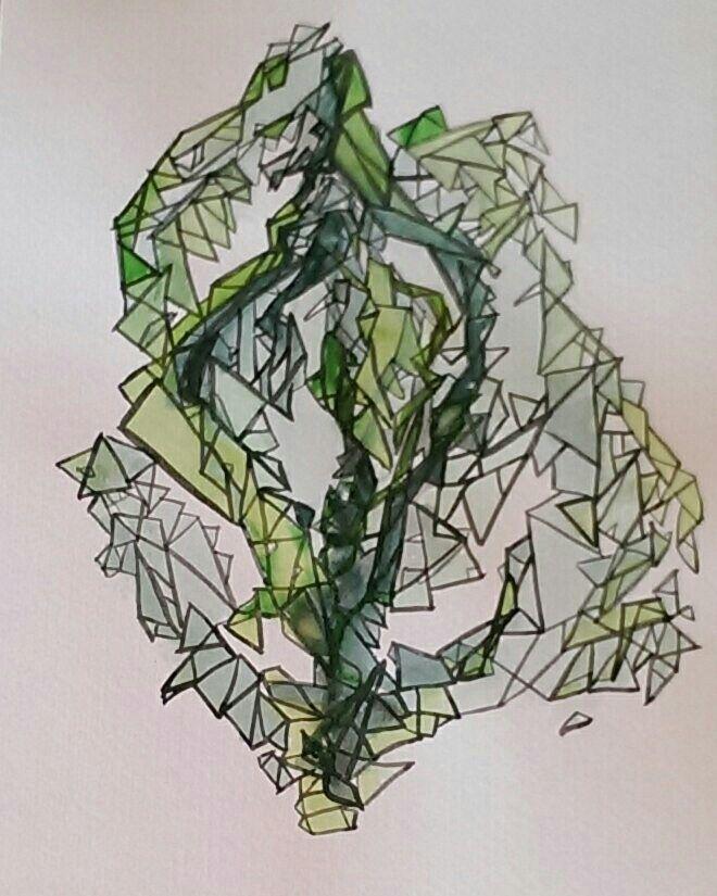 Geometric seaweed by me