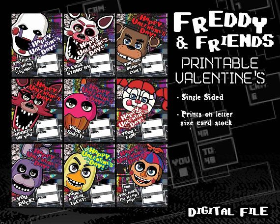 Valentine's Day is right around the corner! Are you ready for Freddy?!