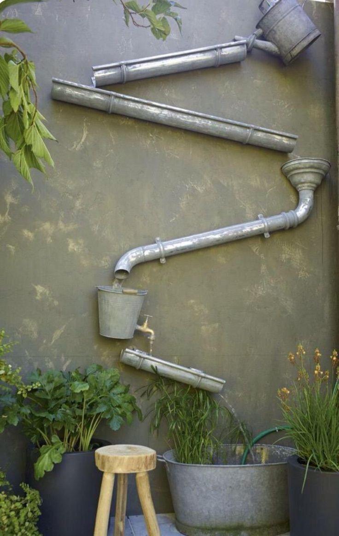 Plezier met de regenwaterafvoer.