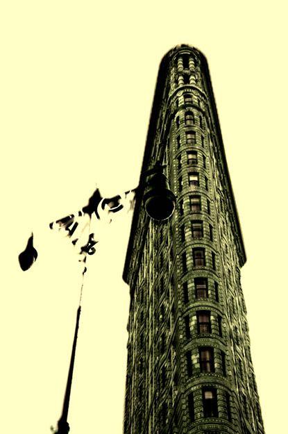 New York Flatiron 101 toned