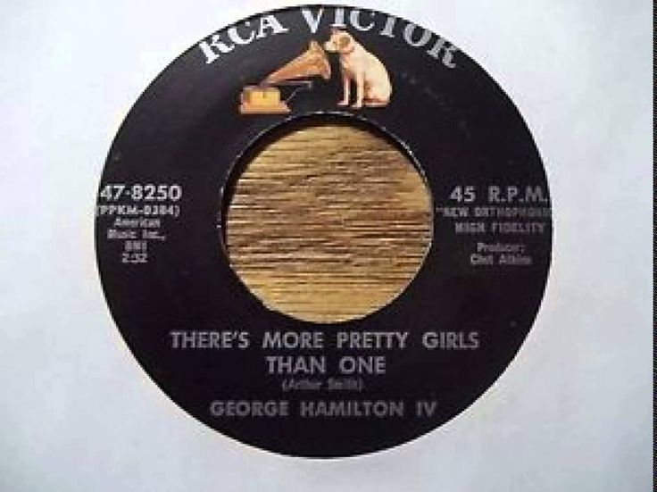 George Hamilton IV ~ There's More Pretty Girls Than One