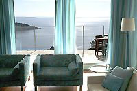Overlooking the French Riviera, near Cannes, this spacious, modern three-bedroom villa has breathtaking views of the Mediterranean from every room, as well as its own swimming pool. Its located along the Corniche dOr, one of the most beautiful coastal roads in the world, and is within walking distance of the beach and the National Park [...]