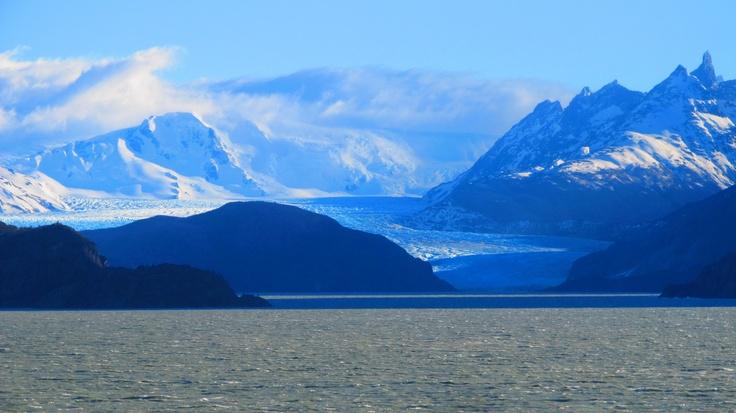 Glaciar Grey en Parque Nacional Torres del Paine. Foto de Pablo Sebastián Villarroel.
