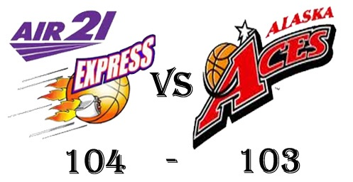 Air21 Express win against Alaska Aces in PBA Philippine Cup 2012-13 Game 44 Result