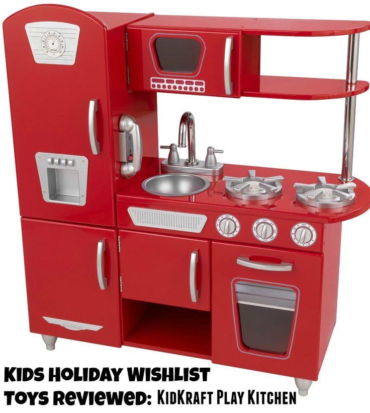Holiday Toys Fir Kids Reviewed: KidKraft Kitchen Review! Check Out All The  Other Toys
