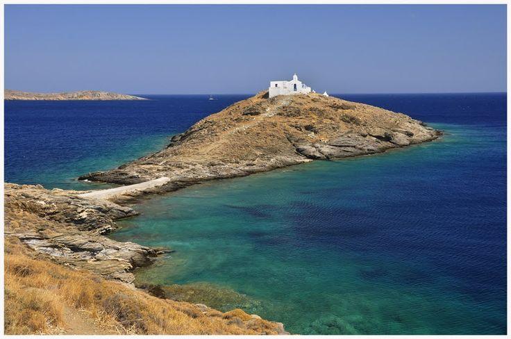 We ❤ Greece | Ai Giannis islet, #Kithnos #Greece #chapel #travel #destination #explore