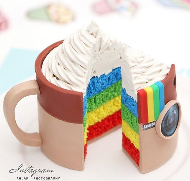 Cake Art Instagram : 79 best images about Pasteles con fondant on Pinterest ...