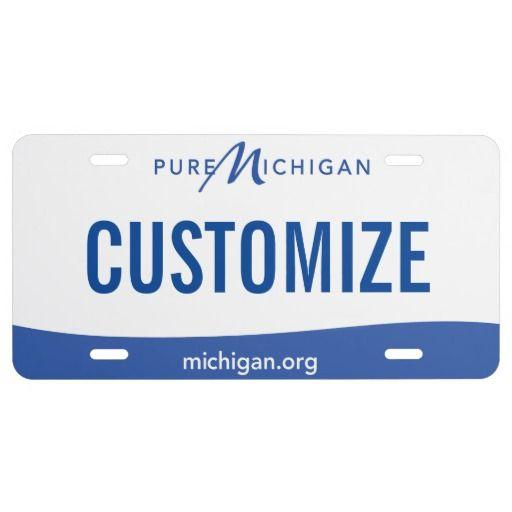 Michigan Custom License Plate