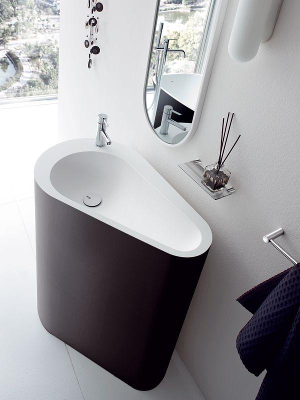 Freestanding Korakril™ washbasin BOMA | Freestanding washbasin - @rexadesign