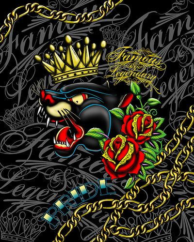 265 best images about ed hardy on pinterest don ed - Ed hardy designs wallpaper ...