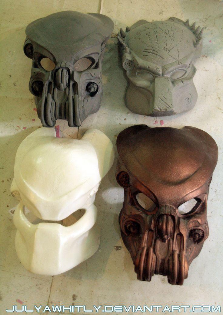 *Predator*s masks* by JulyaWhitly.deviantart.com on @deviantART