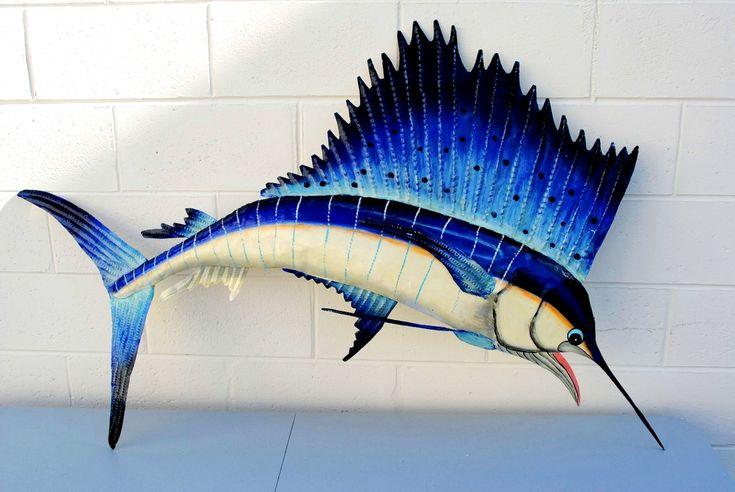 Www Buyamag Com Blue Marlin Sailfish Swordfish Wall