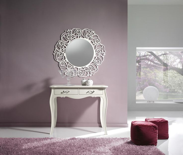 Console table with mirror set Catalog Zanini