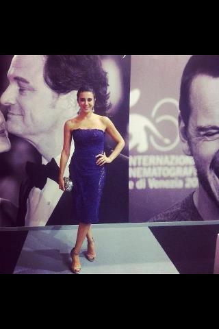Nadine Labaki at the Venice Film Festival 2012