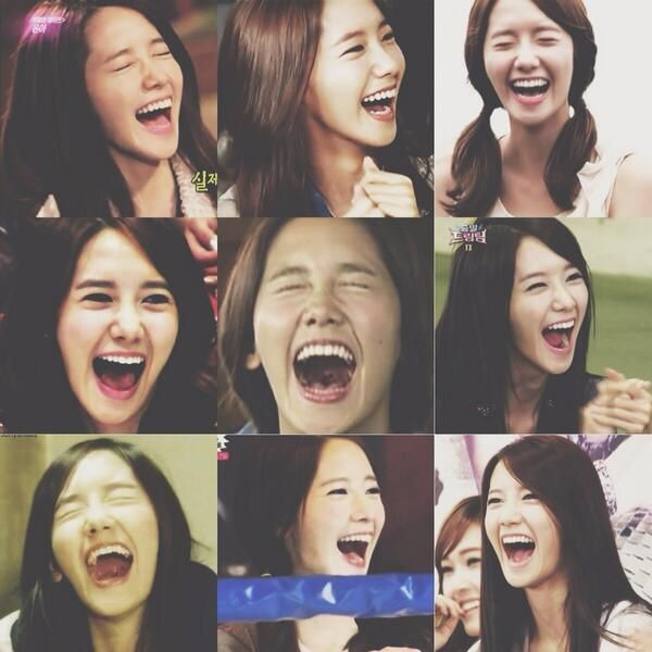 Your alligator laugh lights up our hearts XD #HappyYoonaDay #ImYoona