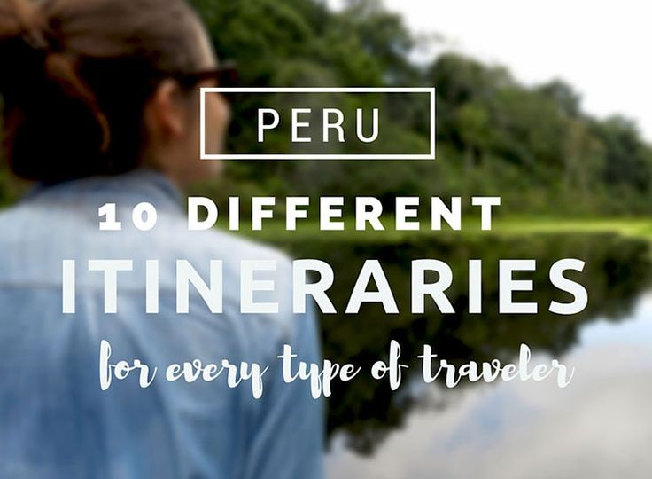 Going to Peru, are you? We've already told you where we think you should go, so all that's left is telling you how to do it. With a lot of thought and input from our travels around Peru, we've created the perfect Peru itinerary: meaning, we've created several of them, based on the time you have and what you're interested in.