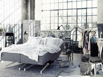Bilder, Sovrum, Carpe Diem Beds of Sweden, Sängkläder, Ställbar säng, betong, Grått, Kuddar, Säng - Hemnet Inspiration