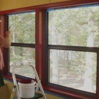 Peindre une fenêtre en PVC