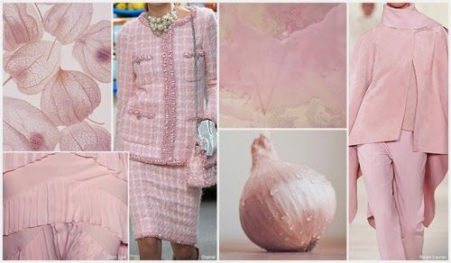PALE PINK is the most saturated soft pink tone this season. Ralph Lauren presents noteworthy shades. FASHION VIGNETTE: TRENDS // FASHION SNOOPS - FALL/WINTER 2015-16 WOMEN'S COLOR