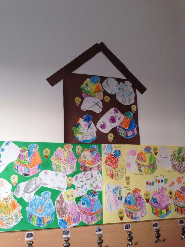 Family And House Activity Family Theme Preschool