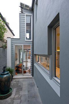 Paddington Butterfly House - contemporary - exterior - sydney - Michelle Walker architects Dulux Windspray