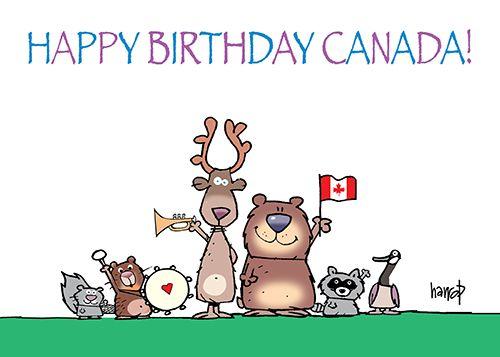 CANADA'S 150TH BIRTHDAY! | Canada,Canada Day, Happy Birthday ...