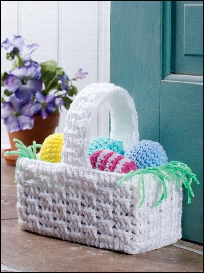 Easter basket door stop from e-patternscentral.com