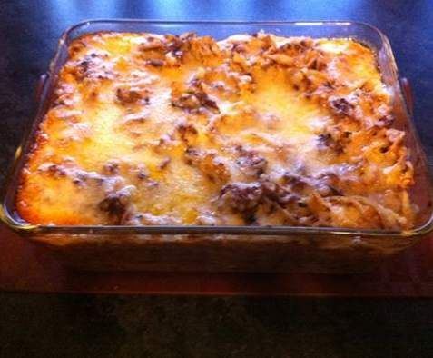Recipe Beef Pasta Bake by thermosimsa - Recipe of category Pasta