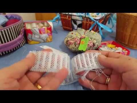 Remate De Ganchillo En Una Toallita 1 - YouTube