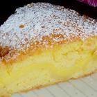 Фото рецепта: Чайный пирог с заварным кремом