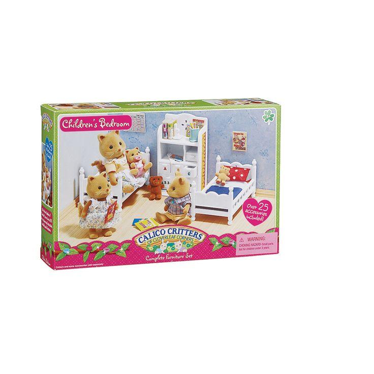 calico critters children's bedroom set  qc supply