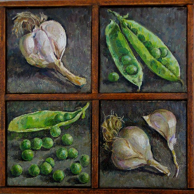 Peas and Garlic