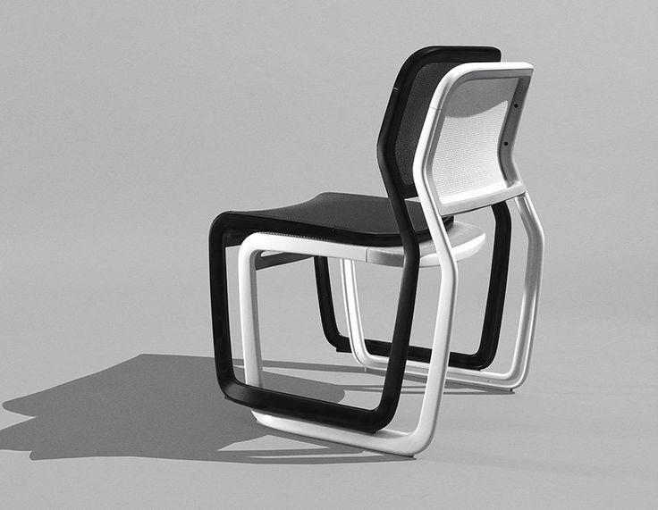marc newson aluminum chair knoll