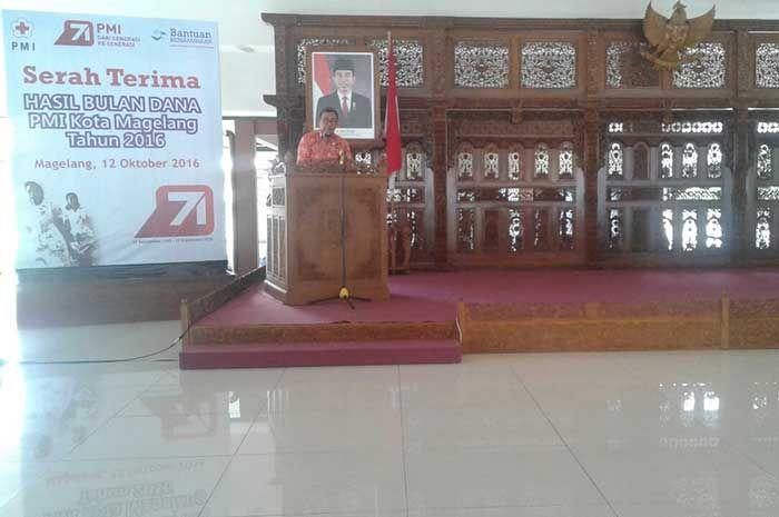 Kapolres Magelang Kota menghadiri bulan bhakti PMI Kota Magelang