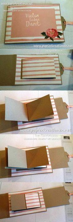 Na, ihr, heute möchte ich euch eine meiner liebsten Kartenformen zeigen - eine ganz besondere Karte mit viel Platz für Fotos. Sie ist toll ...